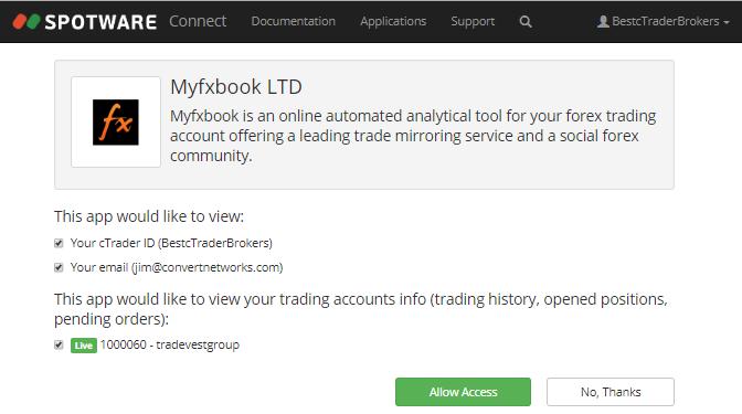 myfxbook login
